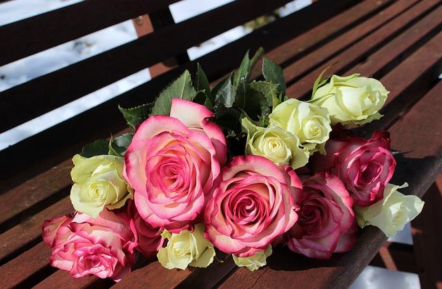kytice růžiček