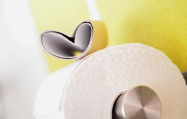 role toaletního papíru