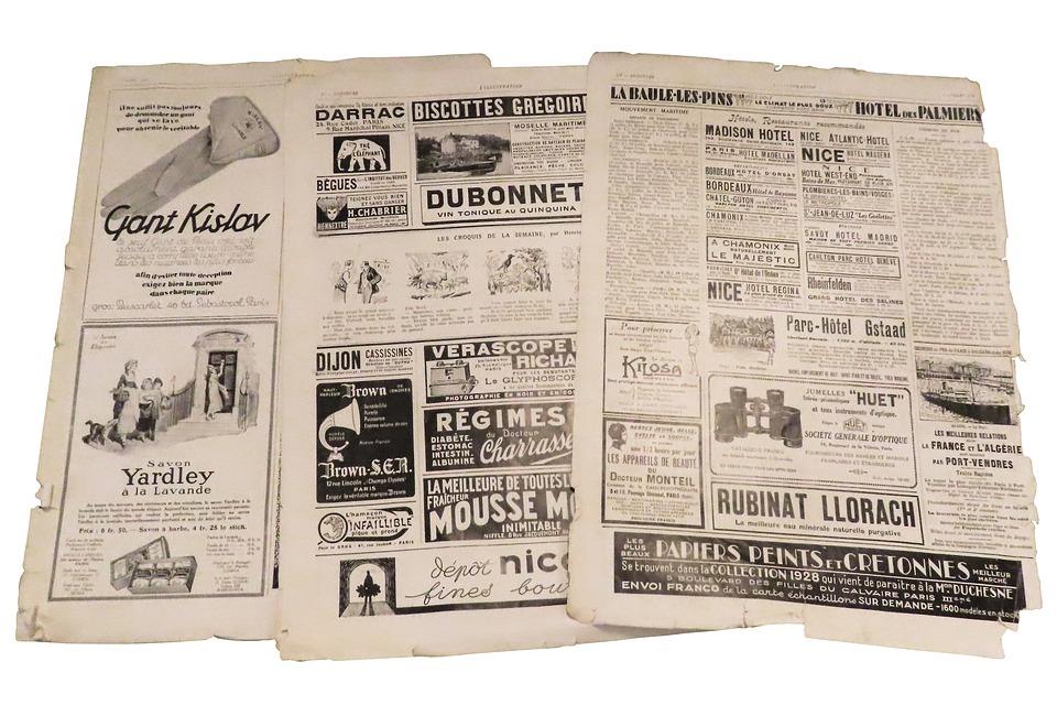 reklama v tisku